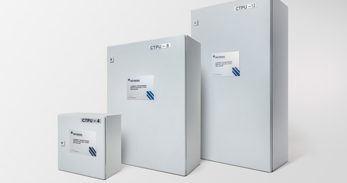 Range of Metrosil Current Transformer Protection Unit Enclosures